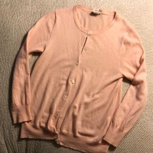 J crew Italy featherweight cashmere cardigan swter